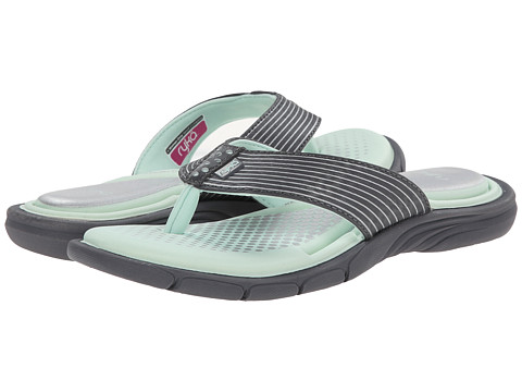 Ryka - Roanoke (Iron Grey/Mint Ice/Chrome Silver) Women's Sandals