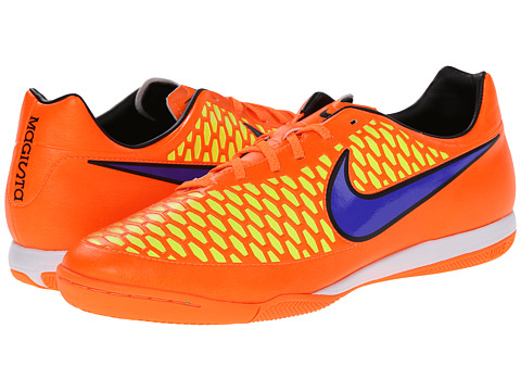 Nike - Magista Onda IC (Total Orange/Laser Orange/Hyper Punch/Persian Violet) Men's Soccer Shoes