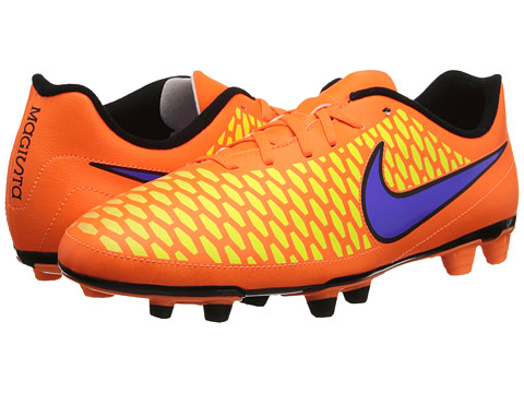 Nike - Magista Ola FG (Total Orange/Laser Orange/Hyper Punch/Persian Violet) Men's Soccer Shoes