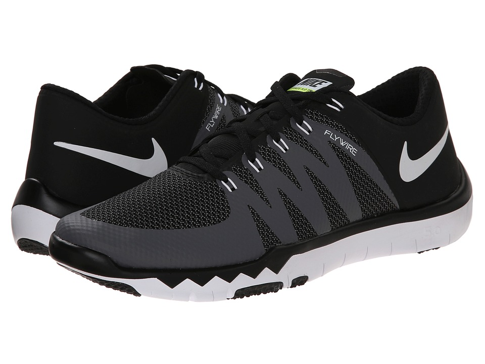 Nike - Free Trainer 5.0 V6 (Black/Dark Grey/Volt/White) Men's Cross Training Shoes