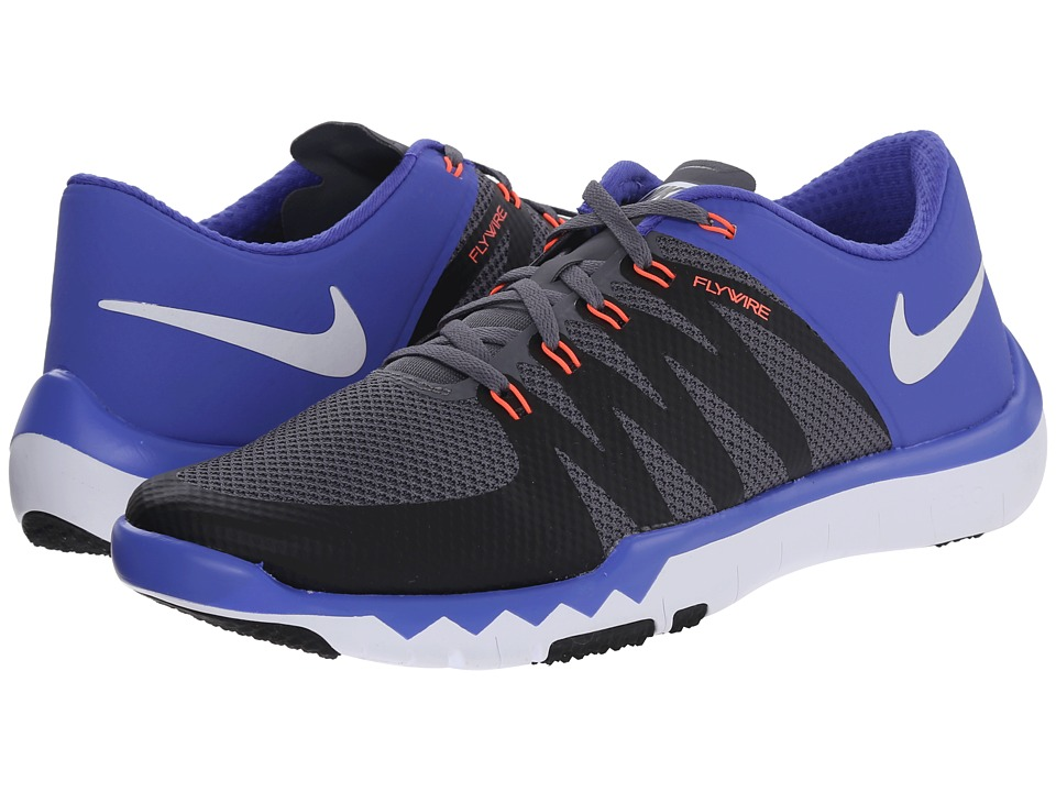 Nike - Free Trainer 5.0 V6 (Dark Grey/Black/Persian Violet/White) Men's Cross Training Shoes