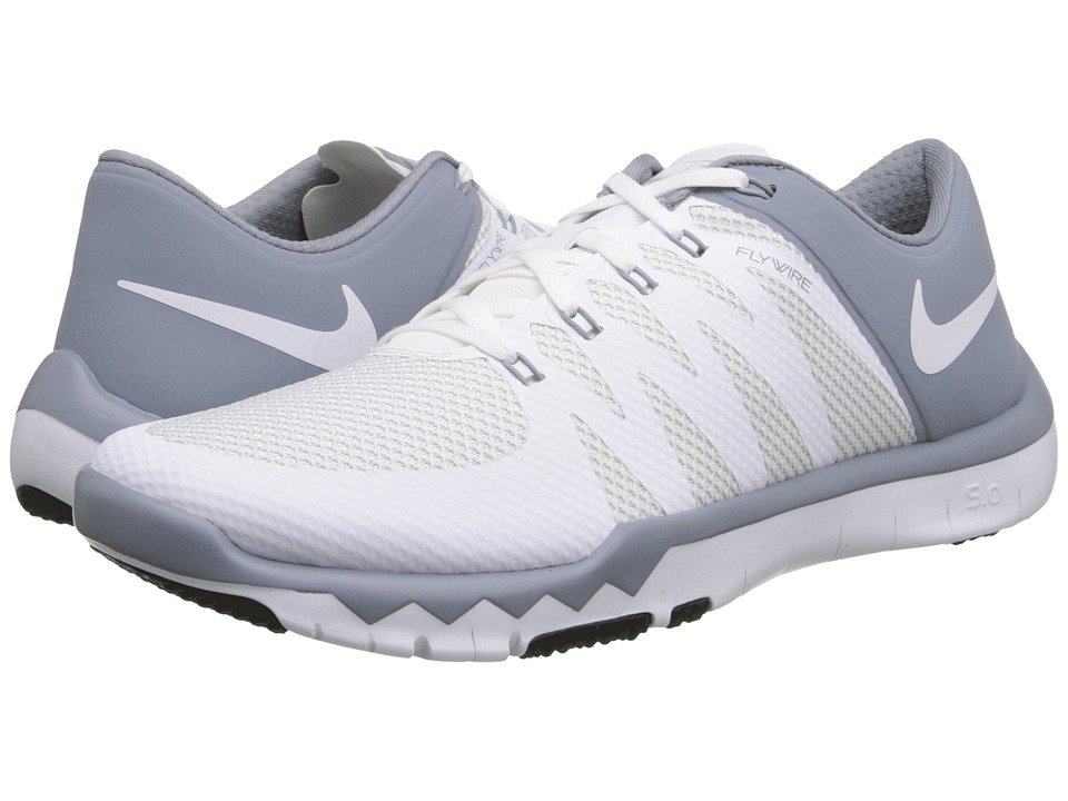 Nike - Free Trainer 5.0 V6 (White/Dove Grey/Pure Platinum/White) Men's Cross Training Shoes