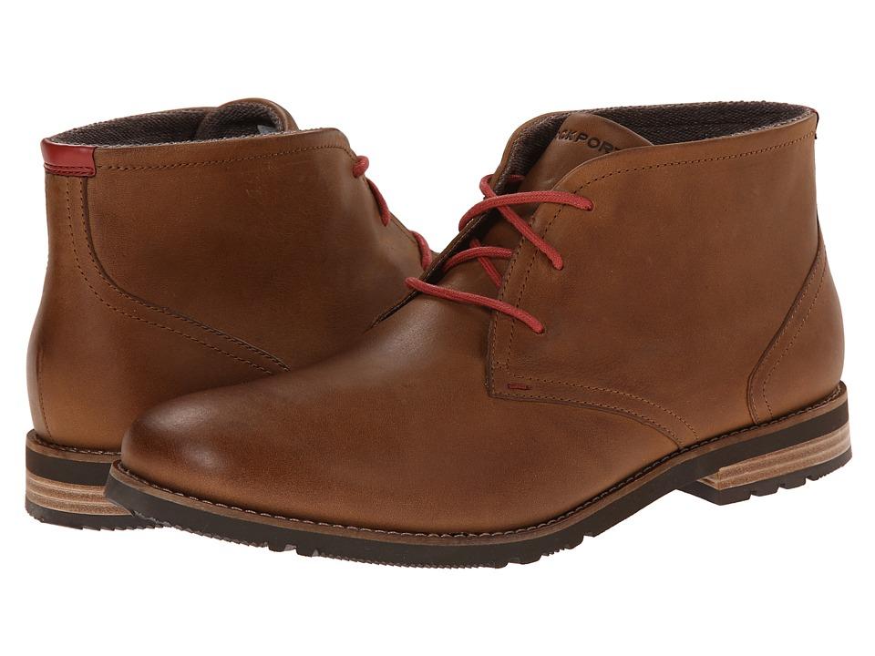 Rockport - Ledge Hill 2 Chukka Boot (New Caramel) Men