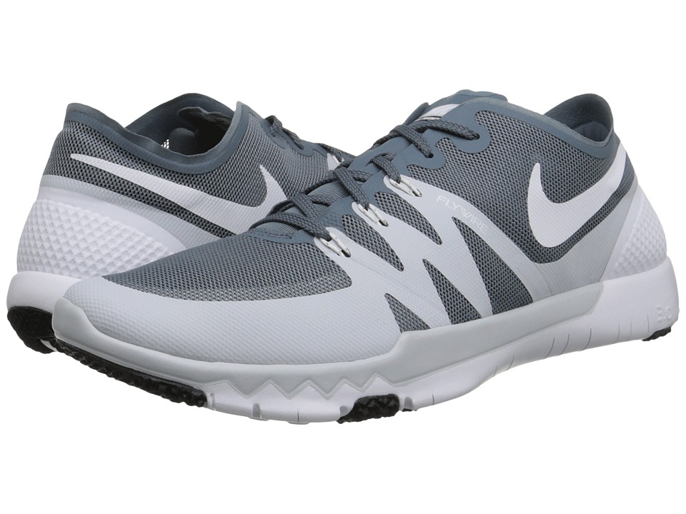 Nike - Free Trainer 3.0 V3 (Blue Graphite/Pure Platinum/White/White) Men