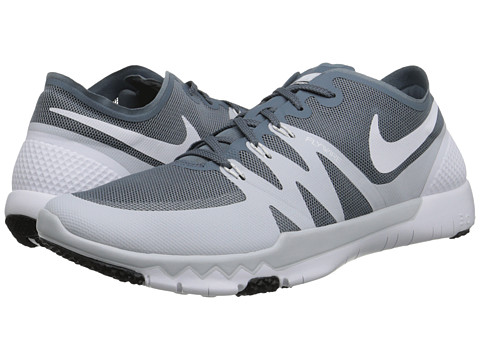 Nike - Free Trainer 3.0 V3 (Blue Graphite/Pure Platinum/White/White) Men's Cross Training Shoes