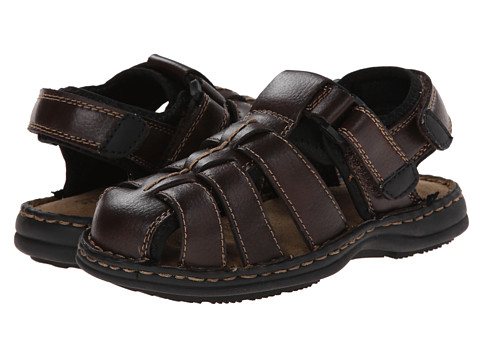 Kenneth Cole Reaction Kids - Of The Look (Little Kid/Big Kid) (Dark Brown) Boy's Shoes