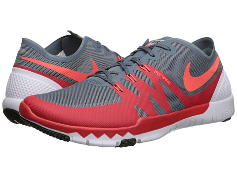 Nike - Free Trainer 3.0 V3 (Blue Graphite/Daring Red/Black/Hot Lava) Men's Cross Training Shoes