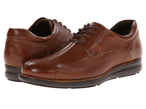 Johnston & Murphy - Shuler 2.0 Bicycle (Tan Tumbled Calfskin) Men's Shoes