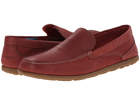 Rockport - Bennett Lane 3 Cape Noble 3 Venetian (Red Washable Nubuck) Men's Slip on Shoes