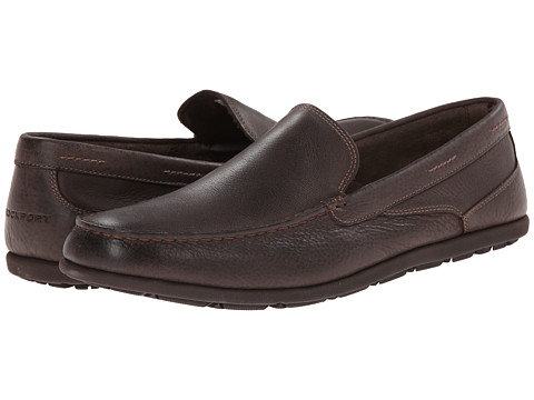 Rockport - Bennett Lane 3 Cape Noble 3 Venetian (Dark Brown Smooth) Men's Slip on Shoes