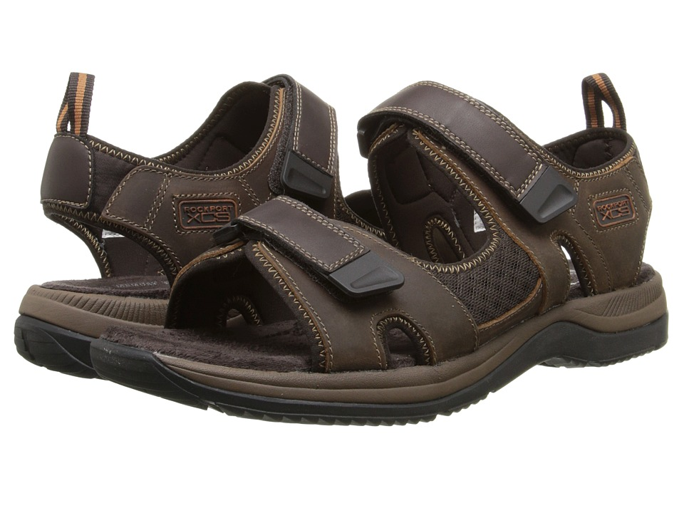 Rockport - XCS Urban Gear Sport Two-Strap (Dark Brown) Men's Sandals