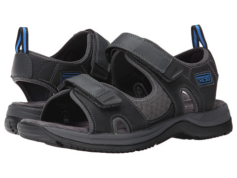 Rockport - XCS Urban Gear Sport Two-Strap (Black Waxed Calf) Men's Sandals