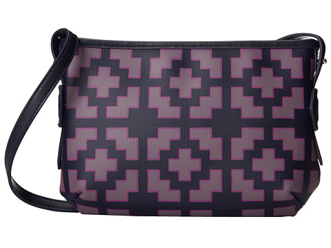 Jonathan Adler - Duchess Crossbody Nixon Grill (Truffle Multi/True Navy) Cross Body Handbags