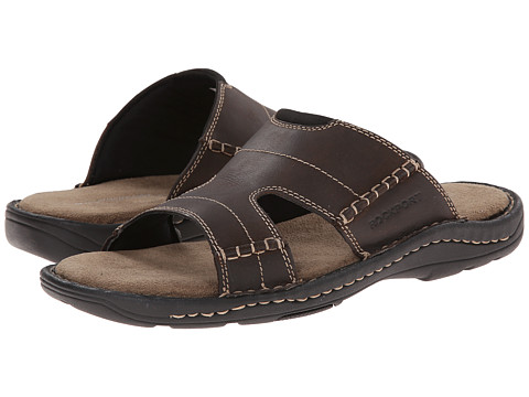 Rockport - Kevka Lake Slide (Stone) Men's Slide Shoes