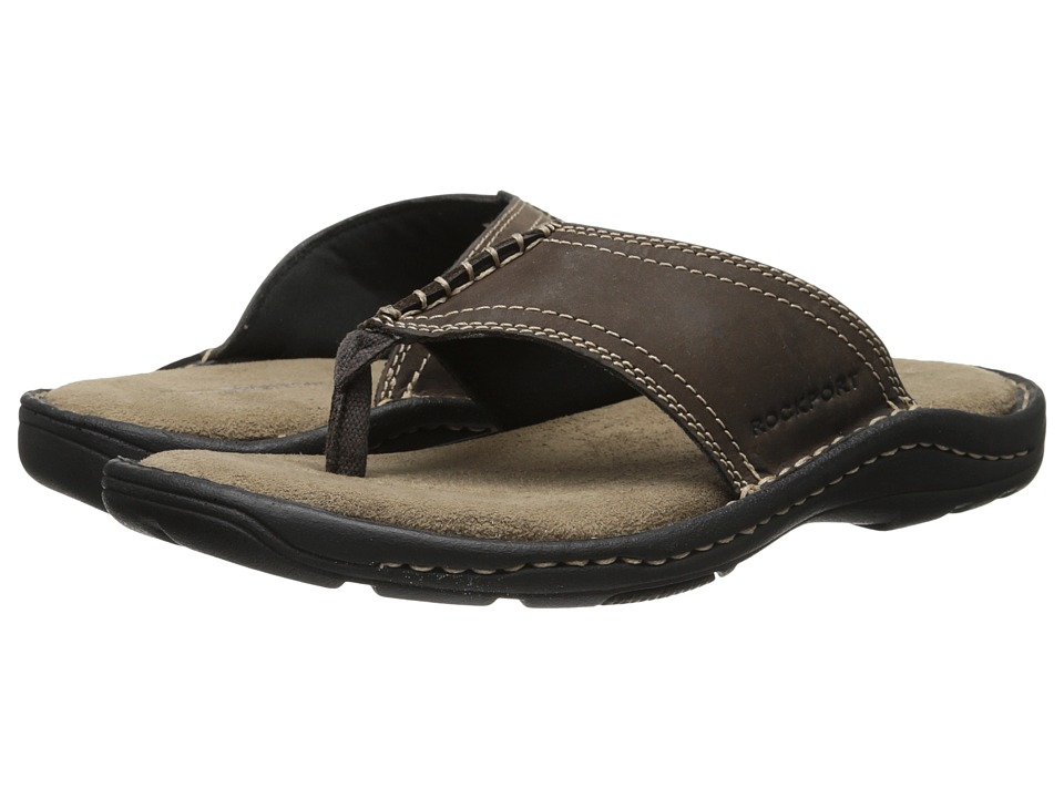 Rockport - Kevka Lake Thong (Stone) Men's Sandals
