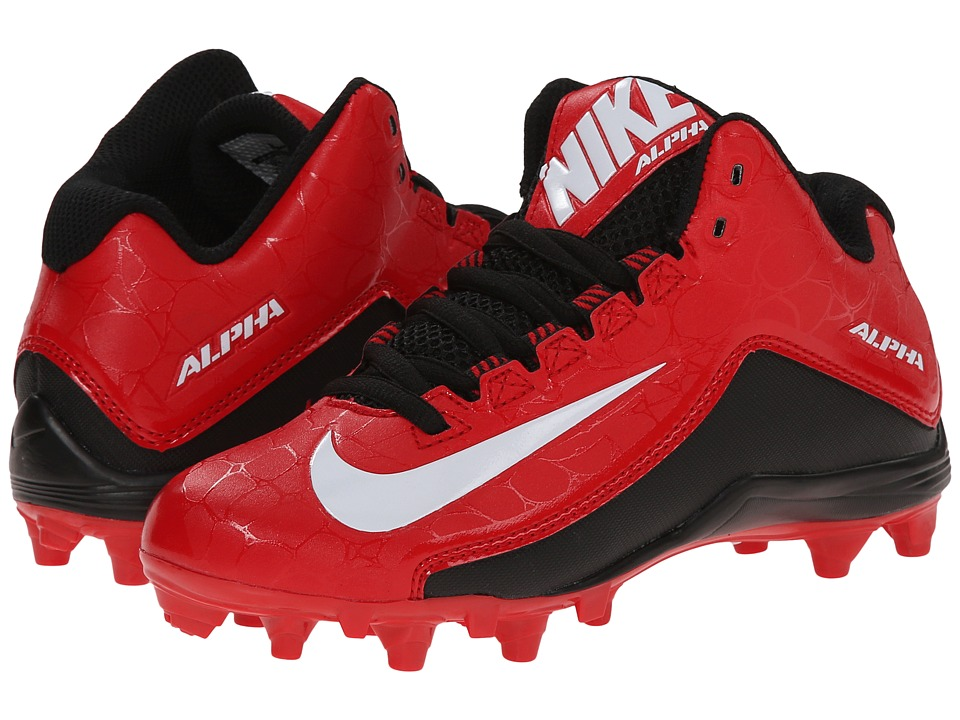Nike Kids - Alpha Strike 2 3/4 TD BG Football (Little Kid/Big Kid) (University Red/Black/White) Boys Shoes