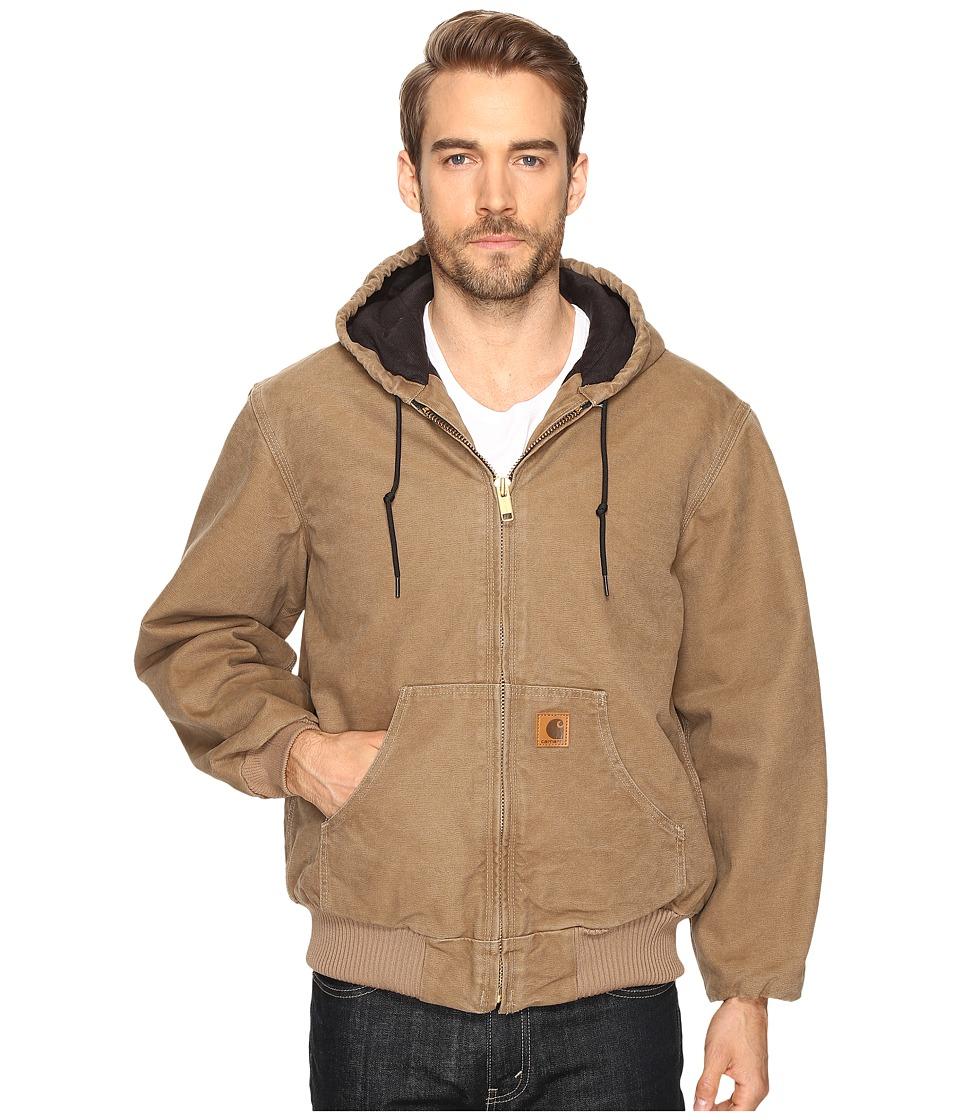Carhartt - QFL Sandstone Active Jacket (Frontier Brown) Men's Coat