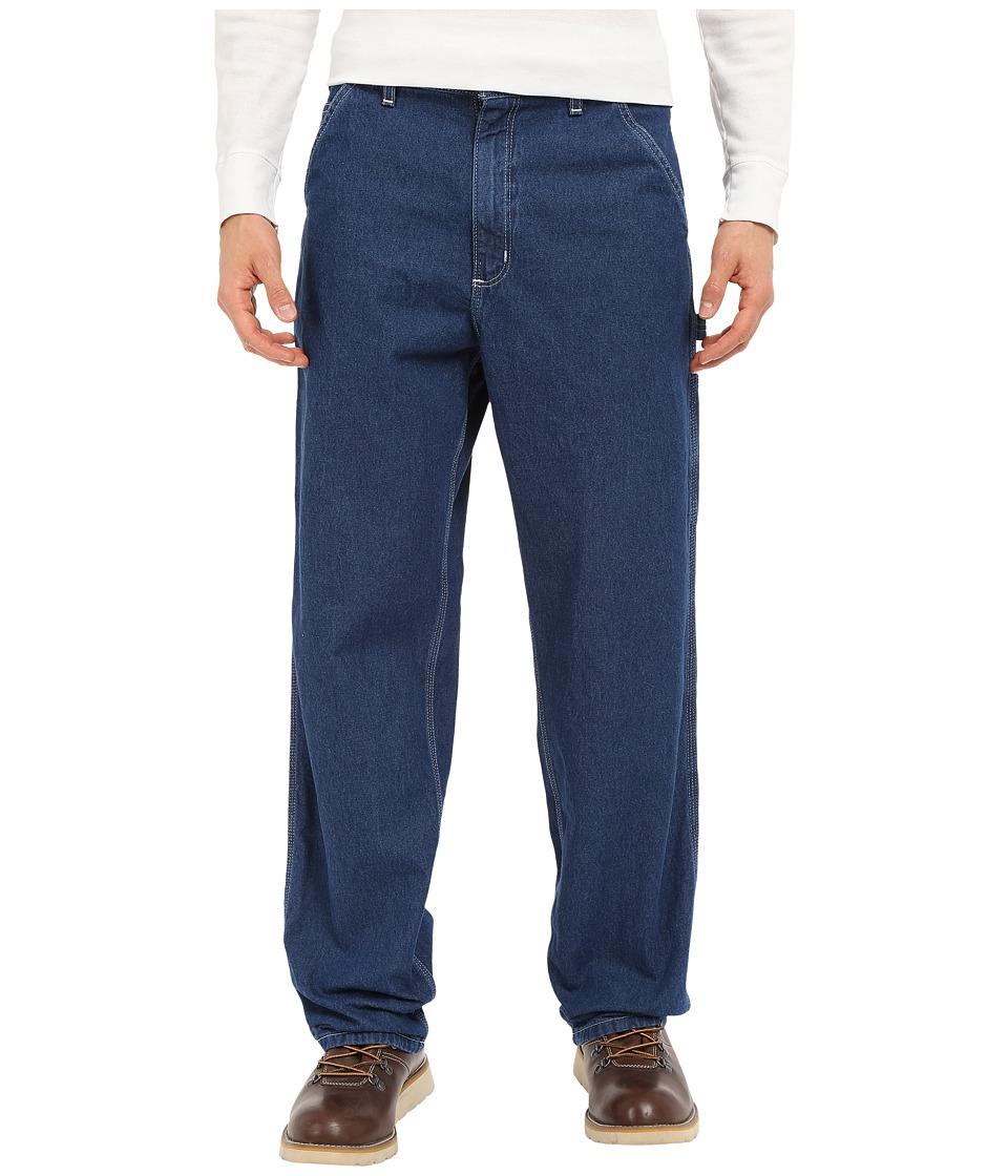 Carhartt - Original Fit Work Dungaree (Darkstone) Men's Jeans