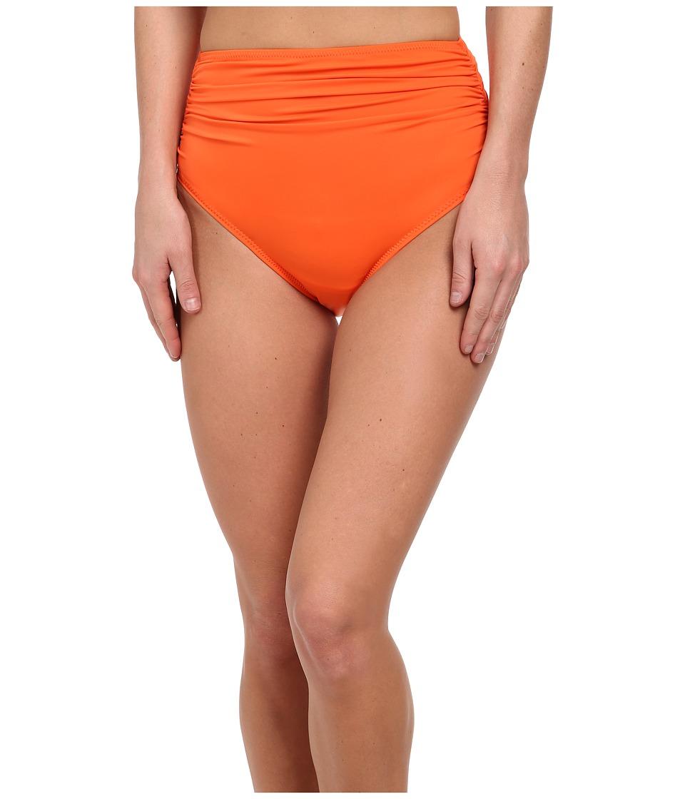 KAMALIKULTURE by Norma Kamali - Shirred Bottom (Bright Orange) Women's Swimwear