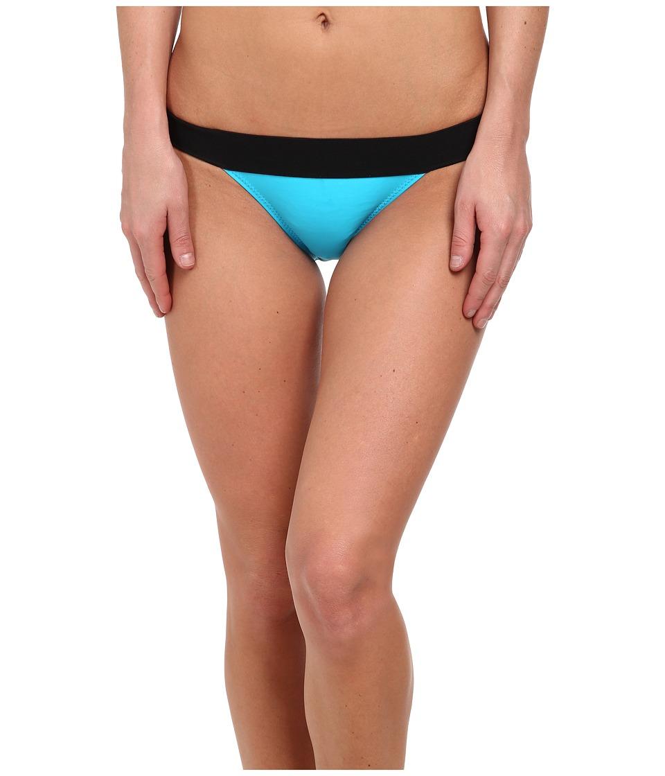 KAMALIKULTURE by Norma Kamali - Banded Bottom (Sea Blue/Black) Women's Swimwear