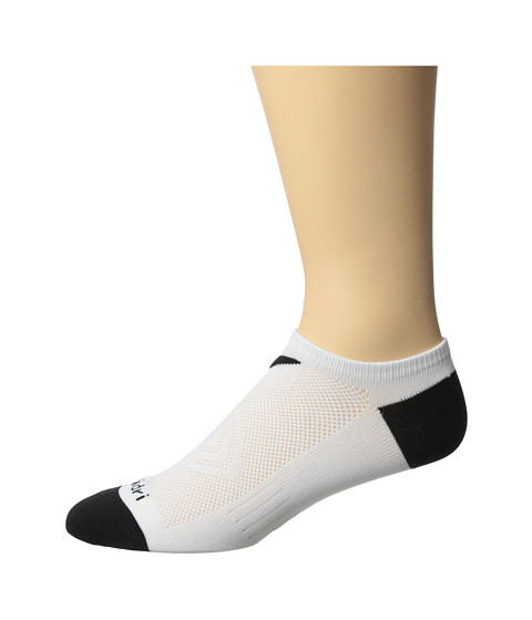 Callaway - X Series Tech No Show (White) Men's No Show Socks Shoes