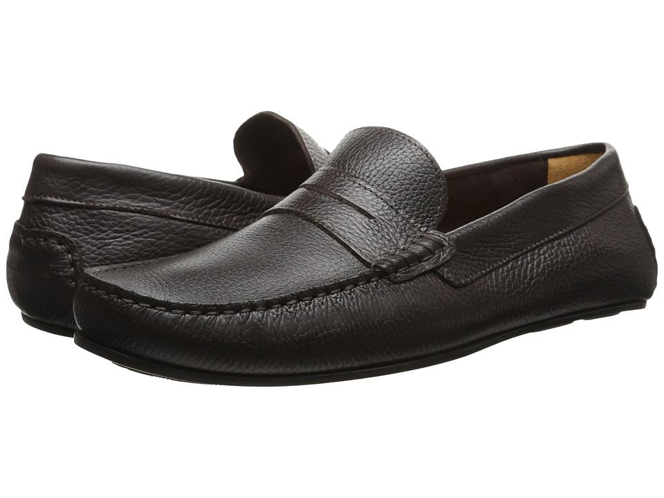 Sebago - Tirso Penny (Dark Brown Leather) Men