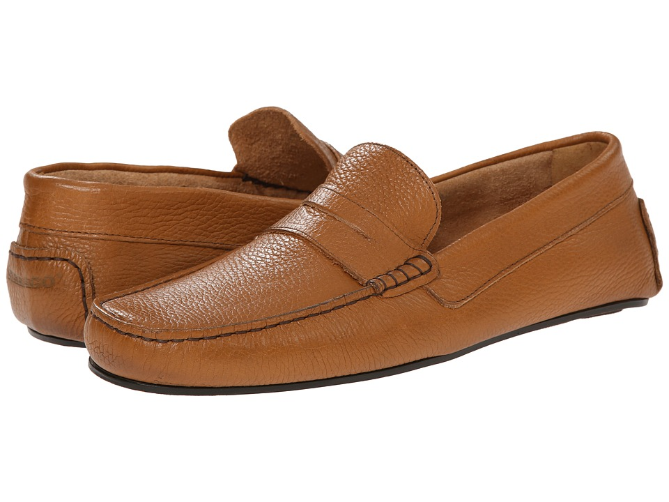 Sebago - Tirso Penny (Tan Leather) Men's Slip on Shoes