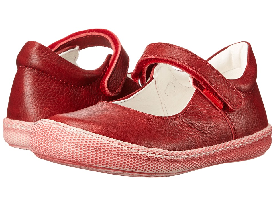 Primigi Kids - Morine 1-E (Toddler/Little Kid) (Red) Girls Shoes