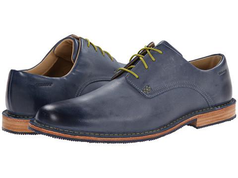 Sebago - Salem 1 (Blue Waxy Leather) Men's Shoes