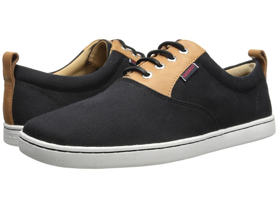 Sebago - Ryde Lace Up (Black Canvas) Men's Shoes