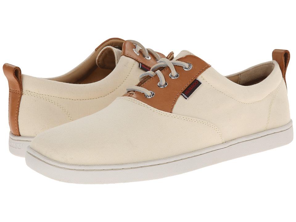 Sebago - Ryde Lace Up (Beigh Canvas) Men's Shoes