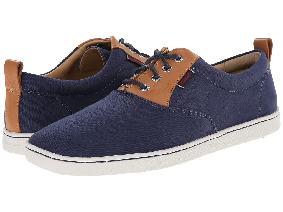 Sebago - Ryde Lace Up (Navy Canvas) Men's Shoes