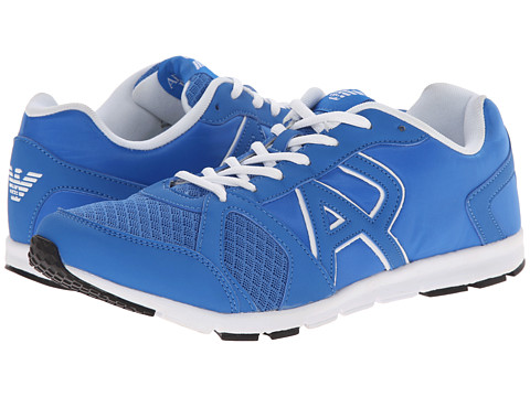 Armani Jeans - Lightweight Cross Trainer (Blue) Men's Shoes
