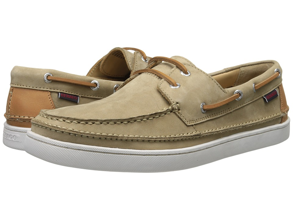 Sebago - Ryde Two Eye (Taupe Nubuck) Men's Shoes