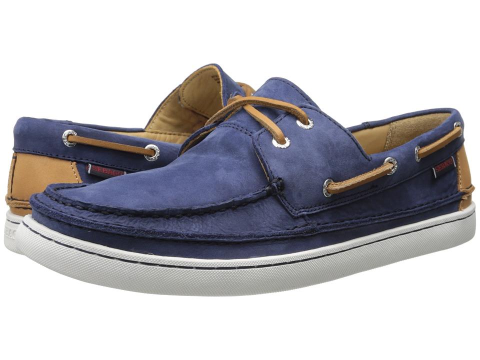 Sebago - Ryde Two Eye (Navy Nubuck) Men's Shoes