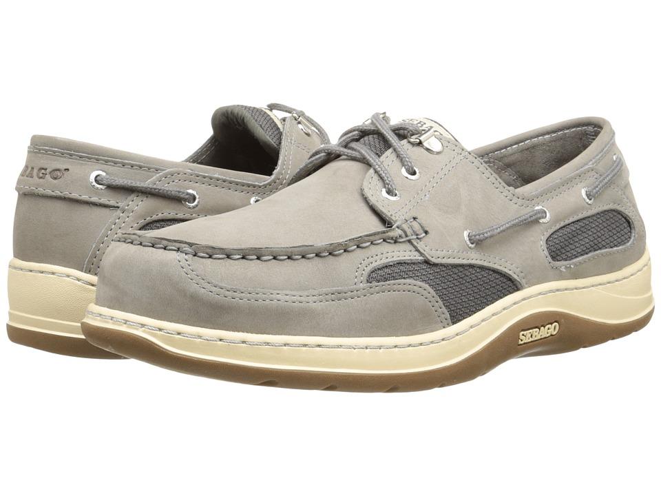 Sebago - Clovehitch II (Grey Nubuck) Men's Lace up casual Shoes