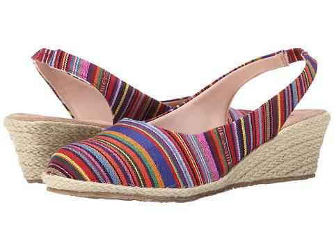 Fitzwell - Southport (Guatemalan Stripe Fabric) Women
