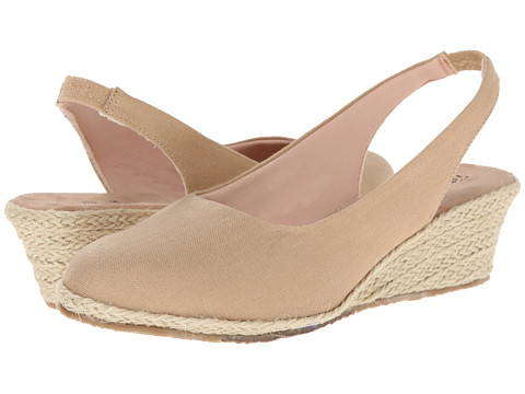 Fitzwell - Southport (Khaki Solid Fabric) Women's Shoes