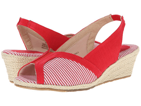 Fitzwell - Delores (Red Fabric/Mini Stripe) Women
