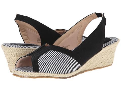 Fitzwell - Delores (Black Fabric/Mini Stripe) Women