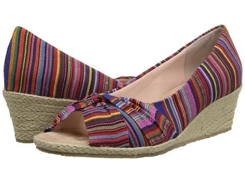 Fitzwell - Shannon (Guatemalan Stripe Fabric) Women's Shoes