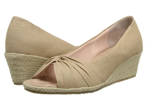 Fitzwell - Shannon (Khaki Solid Fabric) Women's Shoes