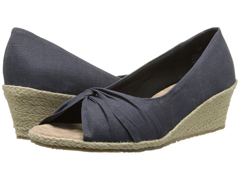 Fitzwell - Shannon (Navy Solid Fabric) Women's Shoes