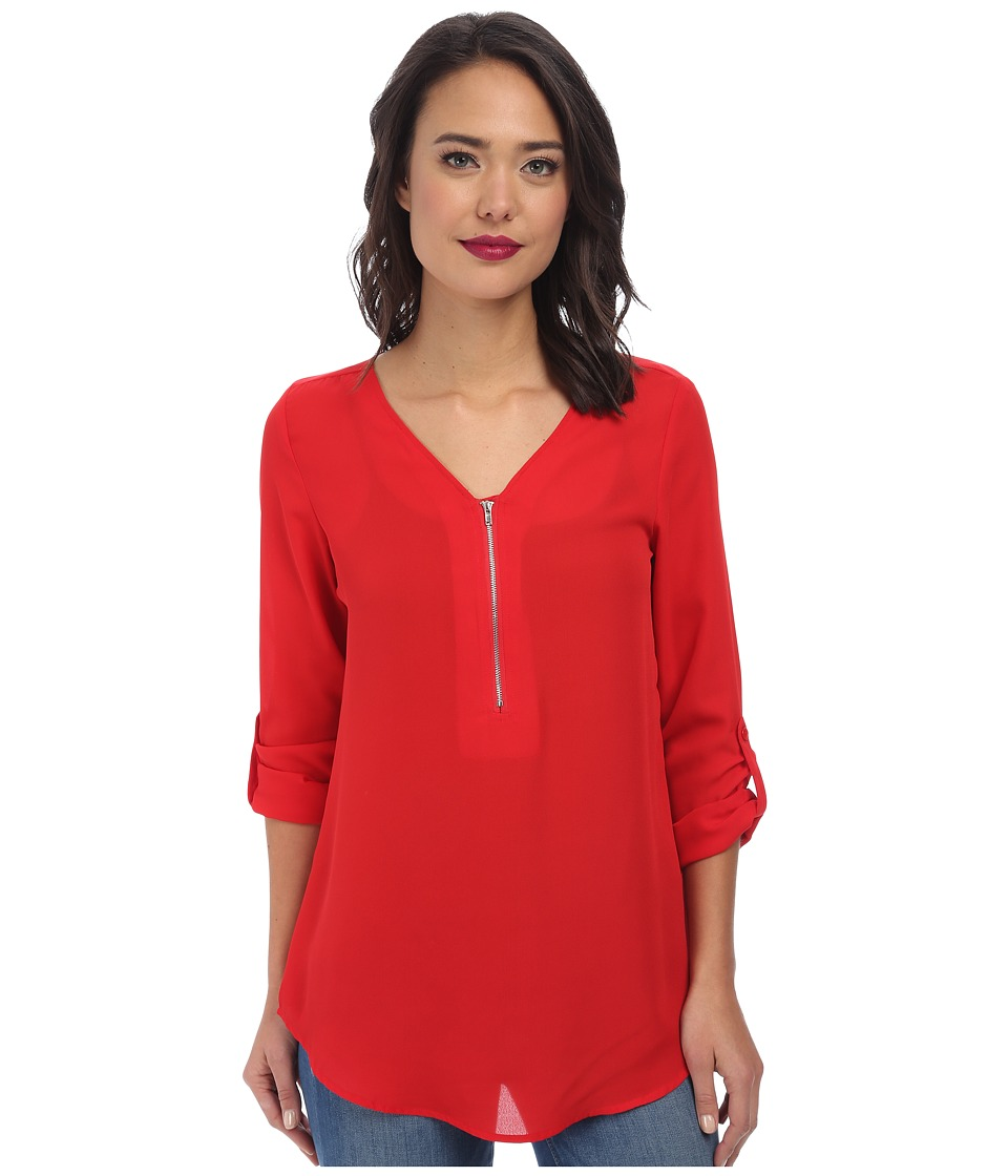 Christin Michaels - Rachel Blouse (Red) Women's Blouse