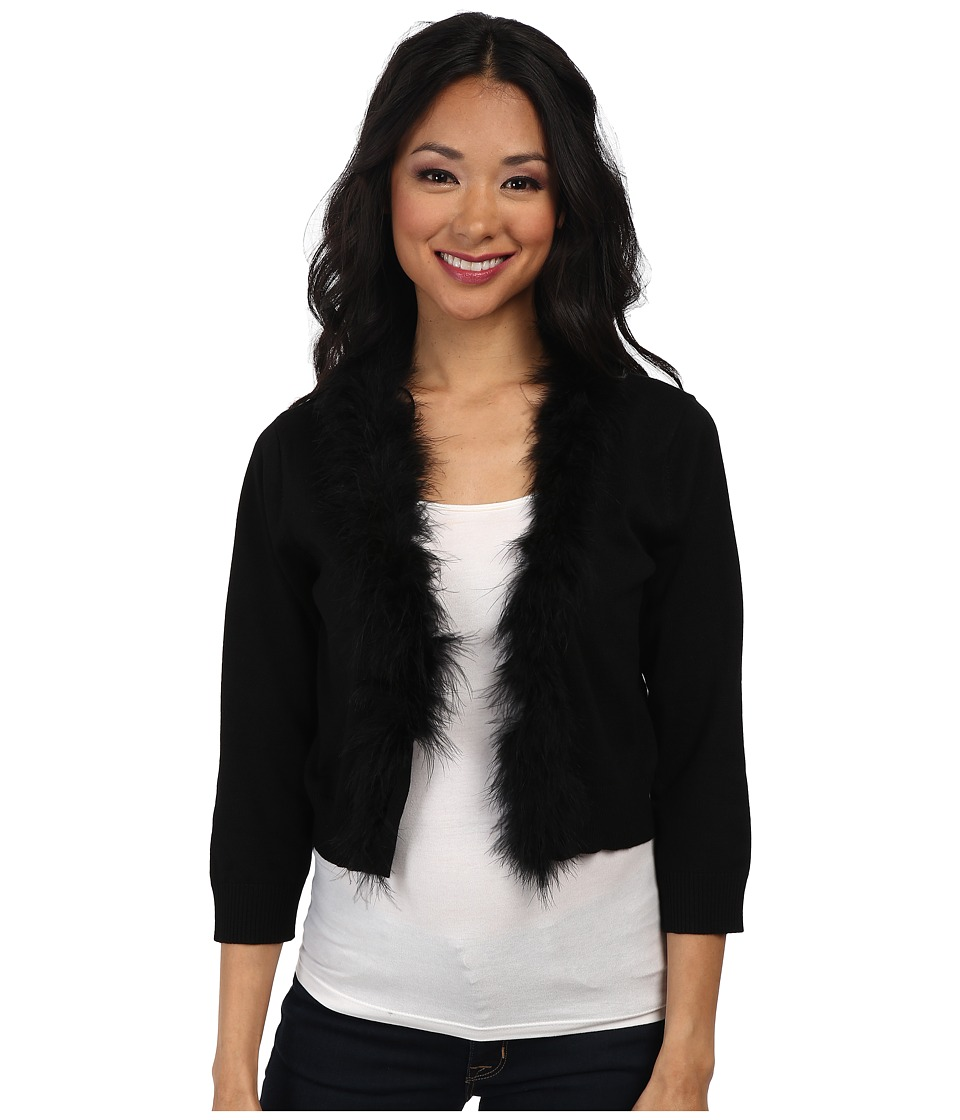rsvp - Florence Glitter Cardigan (Black) Women's Sweater