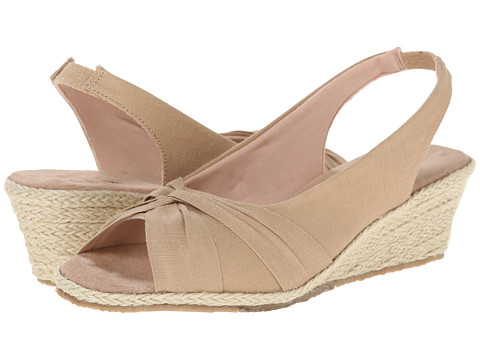 Fitzwell - Sally (Khaki Solid Fabric) Women's Shoes