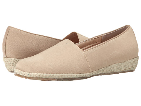 Fitzwell - Alice (Khaki Solid Fabric) Women's Shoes