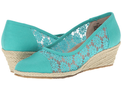 Fitzwell - Wendy (Mint Fabric/Mesh) Women
