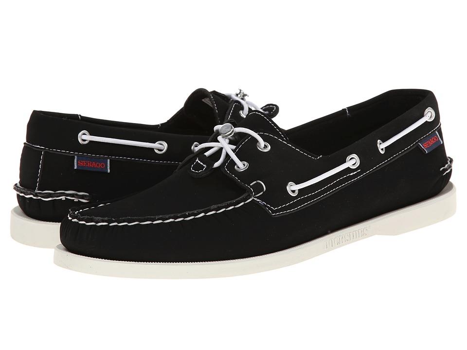Sebago - Dockside Ariaprene (Black) Men's Shoes