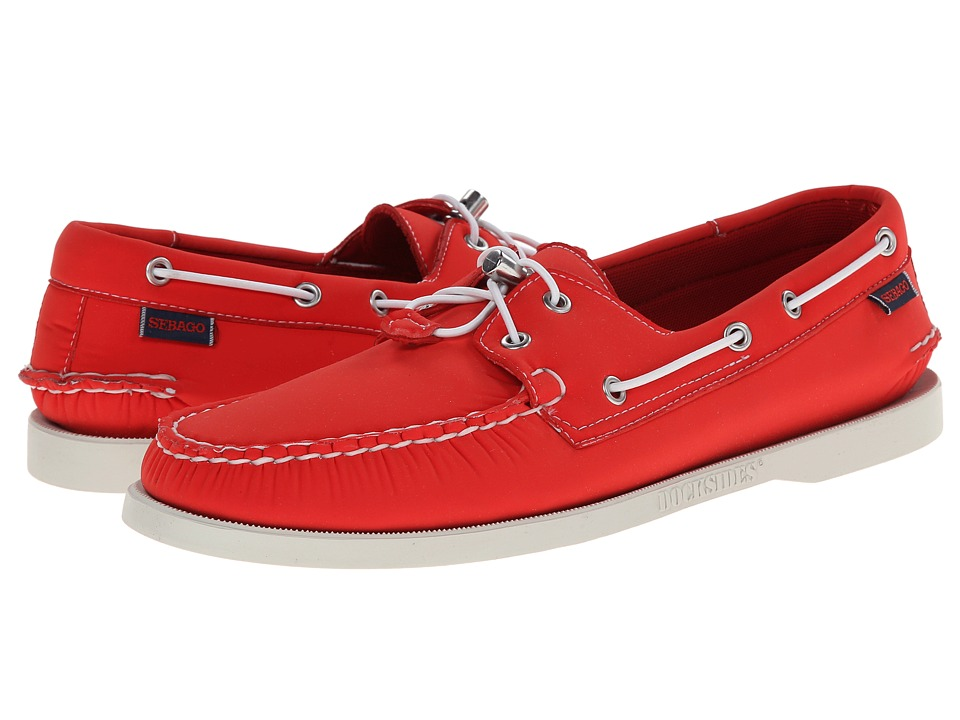 Sebago - Dockside Neoprene (Red Neoprene) Men's Shoes